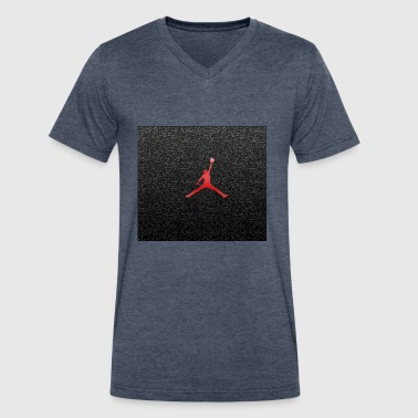 Jordan - Men's V-Neck T-Shirt by Canvas