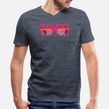 Venice Beach Los Angeles Men 39 S V Neck T