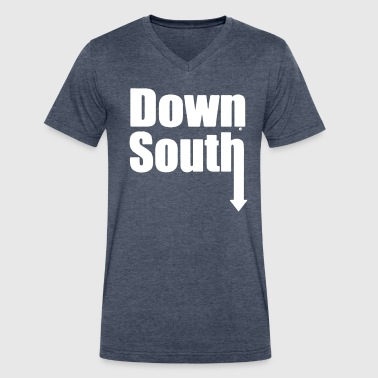 DOWN SOUTH - Men's V-Neck T-Shirt by Canvas