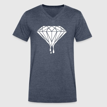 Diamond Universe-Gift-hipster-galaxy-trend-cool - Men's V-Neck T-Shirt by Canvas