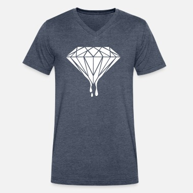 Cool Trend Design Diamond Universe-Gift-hipster-galaxy-trend-cool - Men's V-Neck T-Shirt by Canvas