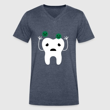 tooth - Men's V-Neck T-Shirt by Canvas