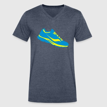 Shoe Sneaker sneaker shoe - Men's V-Neck T-Shirt by Canvas