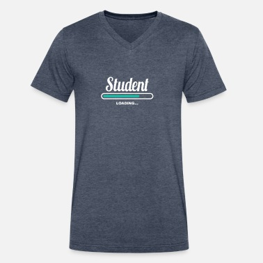 Classmate STUDENT LOADING - FANCY T SHIRTS FOR STUDENTS - Men's V-Neck T-Shirt by Canvas
