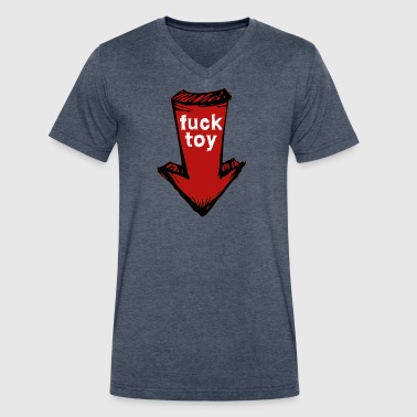 fucktoy - Men's V-Neck T-Shirt by Canvas