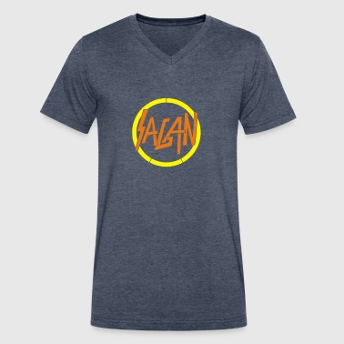 Sagan - Men's V-Neck T-Shirt by Canvas