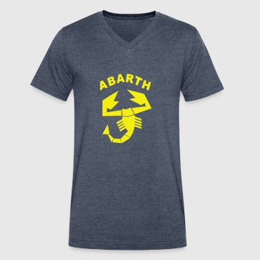 ABARTH - Men's V-Neck T-Shirt by Canvas