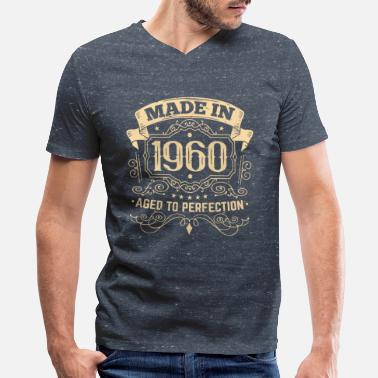 Made in 1960 matured to perfection - Men's V-Neck T-Shirt
