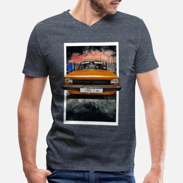 Retro Car retro car - Men's V-Neck T-Shirt