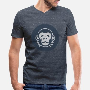 Chimps Chimp - Men's V-Neck T-Shirt