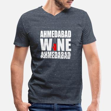 Hyderabad Ahmedabad Hyderabad India - Men's V-Neck T-Shirt