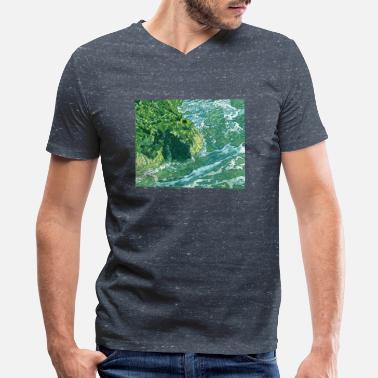 Oceanic Calm - Men's V-Neck T-Shirt by Canvas