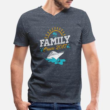 family cruise vacation t shirts - Men's V-Neck T-Shirt