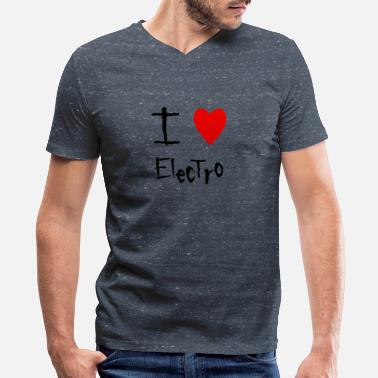 Electro Electro - Men's V-Neck T-Shirt