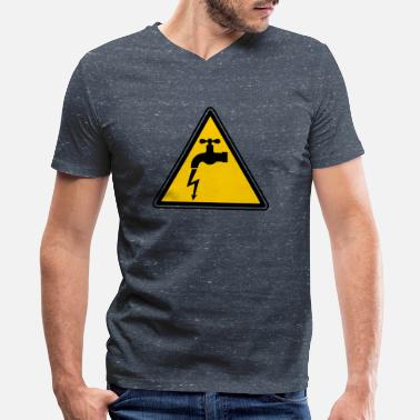 Electricity Bolt bolt - Men's V-Neck T-Shirt by Canvas