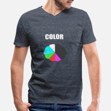 Color COLOR - Men's V-Neck T-Shirt