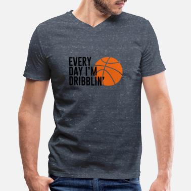Basketball Lover Basketball. Basketball Lover. Basketballer. Hobby - Men's V-Neck T-Shirt by Canvas