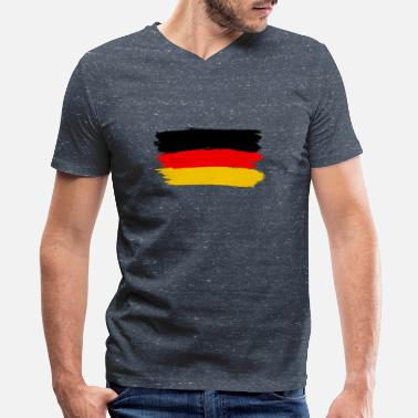 Flag Of Germany flag of germany - Men's V-Neck T-Shirt