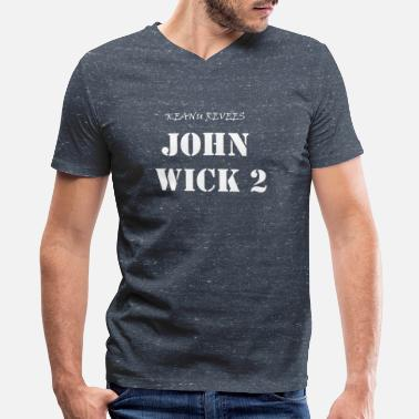 Chapter 2 JOHN TWO - Men's V-Neck T-Shirt by Canvas