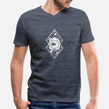 Space Travel Space traveller desig - Men's V-Neck T-Shirt