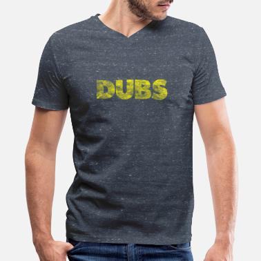 Dub DUBS - Men's V-Neck T-Shirt