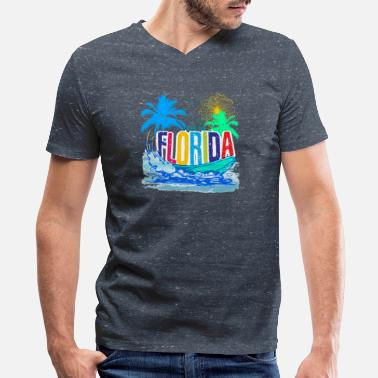 Florida Beach Club Men 39 S V Neck T