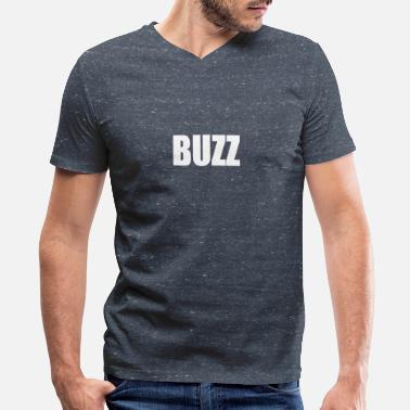 Buzzing BUZZ - Men's V-Neck T-Shirt by Canvas