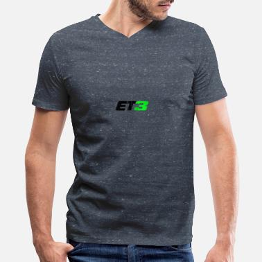 Elisabeth Ii Eli Tomac Et3 Motocross And Supercross Champion Zi - Men's V-Neck T-Shirt