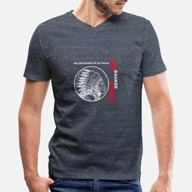 Arms savage arms - Men's V-Neck T-Shirt