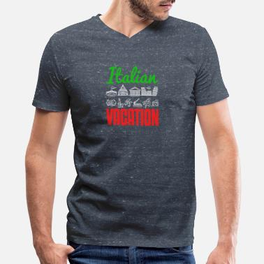 Italy Italian Vacation Italy Tourist Landmarks - Men's V-Neck T-Shirt