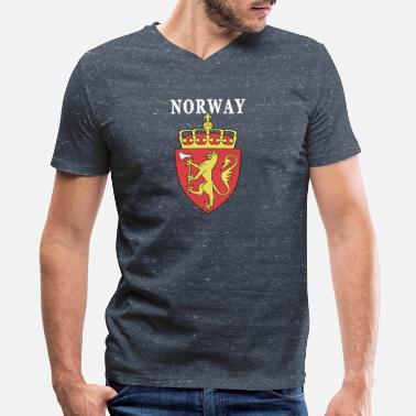 Coat Of Arms Norway coat of arms design - Men's V-Neck T-Shirt