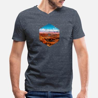 Bryce USA Landscape - National Park - Grand Canyon - Men's V-Neck T-Shirt by Canvas