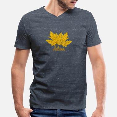 Fall Colors Fall - Men's V-Neck T-Shirt
