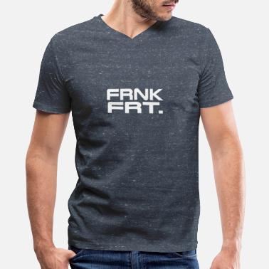 Frankfurt Frankfurt - Men's V-Neck T-Shirt