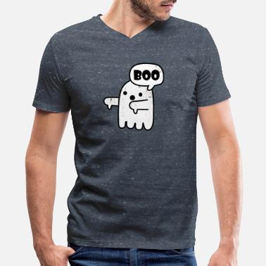Disapproval Ghost Of Disapproval - Men's V-Neck T-Shirt