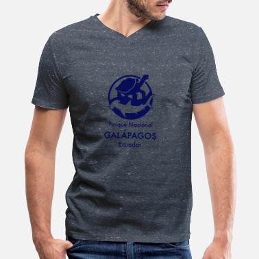 Darwin Galapagos Islands T Shirt Vintage Charles Darwin - Men's V-Neck T-Shirt