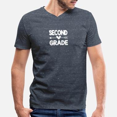 Second Grade SECOND GRADE - Men's V-Neck T-Shirt