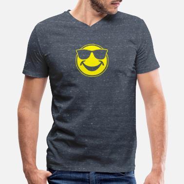598b5ce17aea Sunglasses Smiley COOL yellow SMILEY BRO with sunglasses - Men's V-
