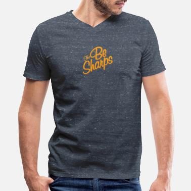 Sharp The Be Sharps - Men's V-Neck T-Shirt by Canvas