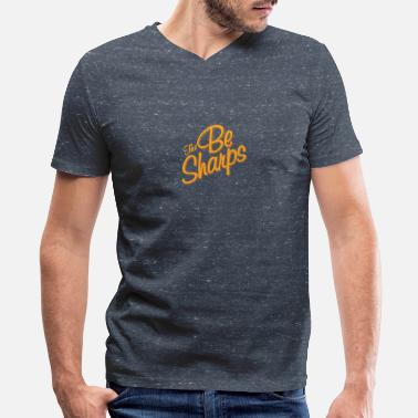Sharp The Be Sharps - Men's V-Neck T-Shirt