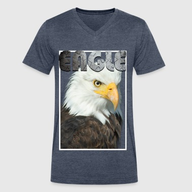 eagle - Men's V-Neck T-Shirt by Canvas