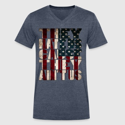 America - Men's V-Neck T-Shirt by Canvas