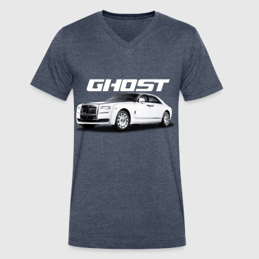 RR Ghost - Men's V-Neck T-Shirt by Canvas