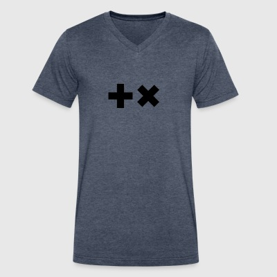 Martin Garrix Symbols I - Men's V-Neck T-Shirt by Canvas