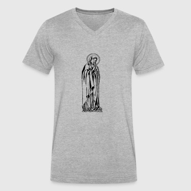 Holy Mary Mary - Men's V-Neck T-Shirt by Canvas