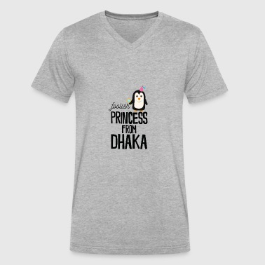 foolish Princess from Dhaka - Men's V-Neck T-Shirt by Canvas