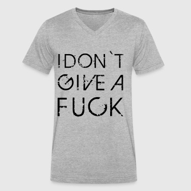 Fuck The Rules I DON'T GIVE A FUCK - Men's V-Neck T-Shirt by Canvas