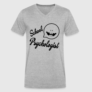 Proud Be A Psychologist Proud School Psychologist Shirt - Men's V-Neck T-Shirt by Canvas