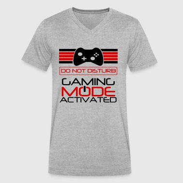 Gaming Mode Activated - Men's V-Neck T-Shirt by Canvas