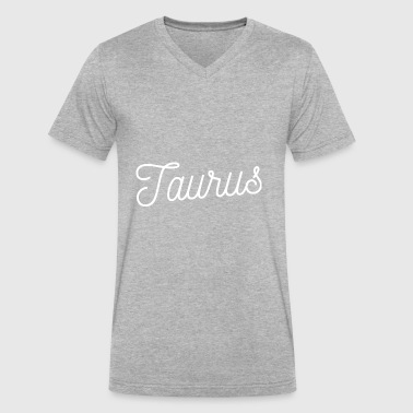 Taurus - Men's V-Neck T-Shirt by Canvas